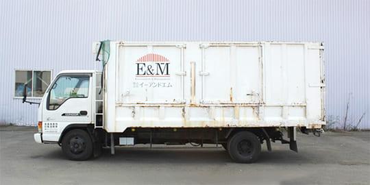 ダンプ(産業廃棄物の回収用)