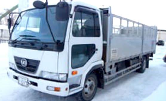 産業廃棄物回収用トラック