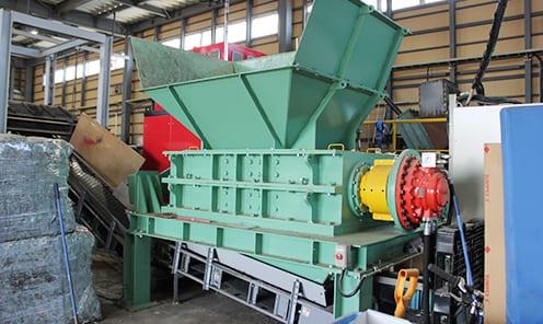 近畿工業(株)製 HKS-9050 混合廃棄物の破砕