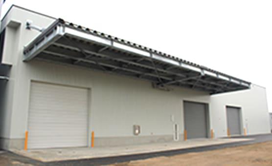 株式会社イーアンドエム 第4工場 産業廃棄物中間処理施設として選別・破砕・圧縮、スプレー缶破砕処理