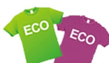 ペットボトル・リサイクルの繊維製品例