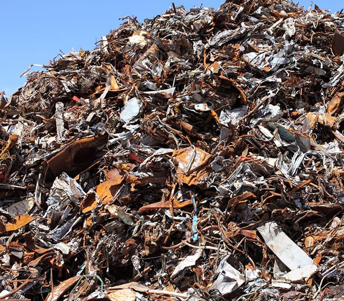 スクラップ 産業廃棄物 処理